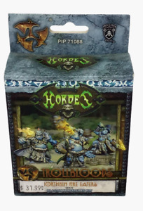 Hordes Trollbloods Northkin Fire Eaters Unit PIP 71088 Miniatures NEW