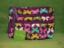 Vera Bradley Neoprene Organizer Flutterby Butterflies NWT Free Shipping BIN $43