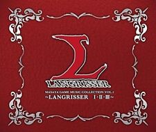 Masaya Game Music Collection VOL.1 ~LANGRISSER I II III~ CD Japanese