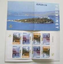 CEPT 2004 CARNET ALBANIE  cote 52 €  a /De047