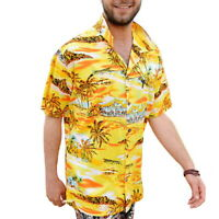 Cliff Booth Yellow Hawaiian Shirt Once Upon A Time In Hollywood Movie Costume