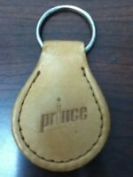 PRINCE BORON TENNIS TAN STITCHED LEATHER KEYCHAIN COLLECTABLE FREE SHIP BUY NOW