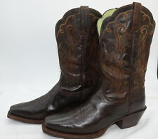 Ariat Legend Square Womens Sz 8 Brown Leather Western Cowgirl Riding Tall Boots