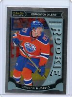 Connor McDavid 2015-16 O-Pee-Chee Platinum #M1 rookie hockey card RC NM Oilers