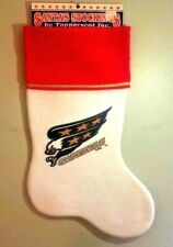 Washington Capitals Christmas Stocking Team Logo Screaming Eagle New NHL Santa