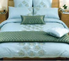 Amarante Duvet Doona Quilt Cover Set by Canterbury   250TC   Embroidered   Queen