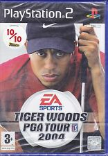 Ps2 PlayStation 2 «TIGER WOODS PGA TOUR 2004» nuovo versione import inglese