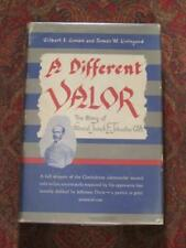 SIGNED - A DIFFERENT VALOR - GEN JOSEPH JOHNSTON - FIRST EDITION IN BRODART DJ