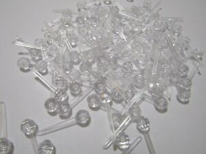100 X LARGE CLEAR PINLIGHTS FOR  CERAMIC CHRISTMAS TREES