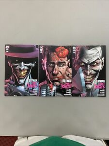 Batman Three Jokers #3 Premium Variant Set of 3 Covers DC 2020
