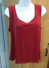 XL Red sleeveless dress top office wear 1830