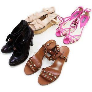 Celine Leather Pumps Sandals 4 pieces set 519192