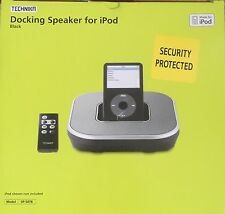 IPOD IPHONE DOCKING STATION BLACK With Speaker With Volume Control With Remote