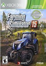 Farming Simulator 15 (Platinum Hits) Xbox 360 New Xbox 360, Xbox 360