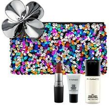 New,MAC 4/Set :Full size Spice It Up +Random Mini Setting Spray+Makeup Bag