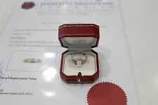 Cartier Lanieres 18K White Gold Ring Size 53 (Ref. B4045000)