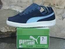 Vintage 1980s PUMA Dallas UK7 Made In Italy Deadstock heynckes comet delphin