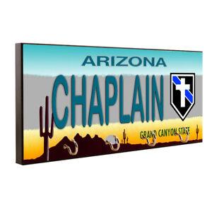 Thin Blue Line Law Enforcement Arizona Chaplain Key Hanger / Pet Leash Hanger