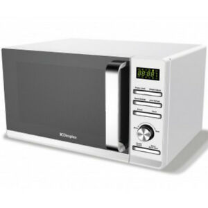 Dimplex 980537 23 Litre 900W  White Microwave Oven Stainless Steel Interior 23L