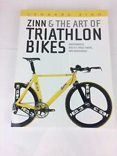 Zinn & The Art of Triathlon Bikes Book, NEW