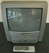 "Emerson 13"" TV TV/DVD DVD Combo Works Gaming EWC13D4 2004 Original Remote 1990s"
