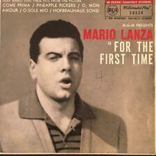 "MARIO LANZA For The First Time Pic Sleeve 7"" Vinyl Single E.P. Australia"