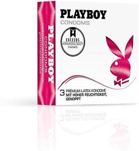180 Playboy Condoms Kondome Latex Pariser Gummi Präser Präservativ Sex Sexy NEU