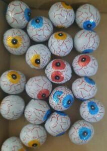 100g Milk Chocolate Eyeballs Retro Sweets Halloween Trick or Treat Bags NEW