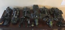 Halo Mega Bloks HUGE UNSC Vehicle builder lot in great condition!  (adult owned)