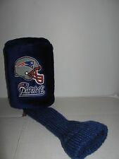 New England Patriots Gridiron Golf furry golf club head cover #3 NFL football