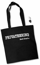 MARK KNOPFLER PRIVATEERING 2-PC SET - TOTE BAG & GUITAR PICK KEYCHAIN NEW MERCH