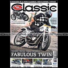 MOTO REVUE CLASSIC N°80 RICKMAN METISSE TRITON KAWASAKI 750 H2 TR6 STEVE McQUEEN