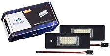 LED plaque d'immatriculation éclairage BMW e87 e81 1er z4 e85 e86 6er e63 e64 103