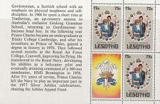 (32973) Lesotho Princess Diana Royal Wedding Booklet Pane #4 MNH U/M