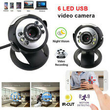 CDBA Computer PC USB 2.0 12MP 6LED PC Camera HD WebcamCamera Web Cam with MIC wl