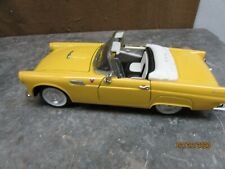 1955 Ford Thunderbird Yellow Die Cast Model SS 7714 1/24 Scale