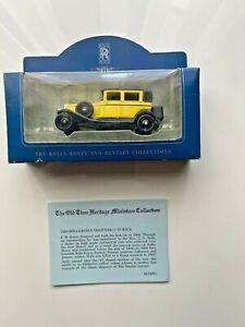 The Rolls Royce And Bentley Collection; 1929 Rolls-Royce Phantom 11 'D Back