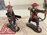 East of India toy soldiers SCA01H - Ashigaru Archers, 3 Firing & 3 Loading