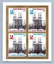 Gugh Island 1973 Royal Wedding MNH M/S Sheet #M703