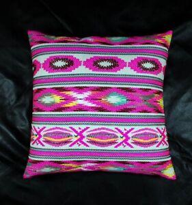 Tribal Cotton Decorative cushion, bohemian cushion 46 x 46 cm