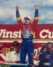 Jeff Gordon NASCAR 1990s Original Autographed Victory Photo Upper Deck Authentic