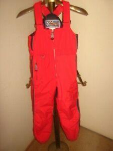 OBERMEYER Preschool size 6 Ski-Snow RED Overalls UNISEX