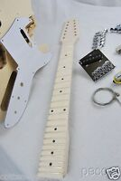 GUITAR BUILDER PROJECT-12 STRING TELE SEMI-HOLLOW THIN LINE ELECTRIC GUITAR KIT