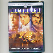 Timeline 2003 PG-13 movie, new DVD Paul Walker, Frances O'Connor, Gerard Butler