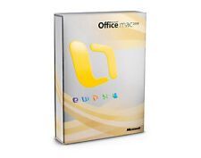 Microsoft Office 2008 Mac-Dt. versione completa-Word, Excel, PowerPoint, Entourage, mes