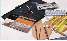 Portfolio+Artist Kit Packed Full Oil Paintng Art Stuff, Brushes, Oil Paint Set