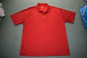 Top Flite Men's Golf Polo Rugby Size XL Red Big and Tall  tshirt extra large