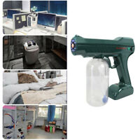 10W Nano Sanitizer Sprayer Cordless Disinfectant Fogger Machine Green