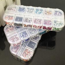 3600 pcs Diamantes Uñas Arte Manicura Cristal Acrílico Gel UV Clavos Nail Art