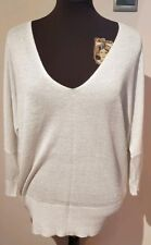Size 16 Silver Shimmer Cold Shoulder Top BNWT Next